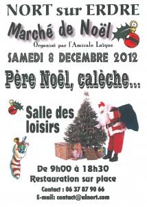 Bientôt le Marché de Noël à Nort sur Erdre !