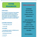 ROADBOOK RALLYE VELO